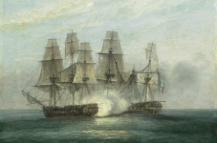 Fragata HMS Phoenix contra la Didon