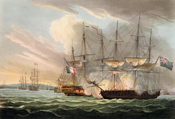 batalla naval isla de aix