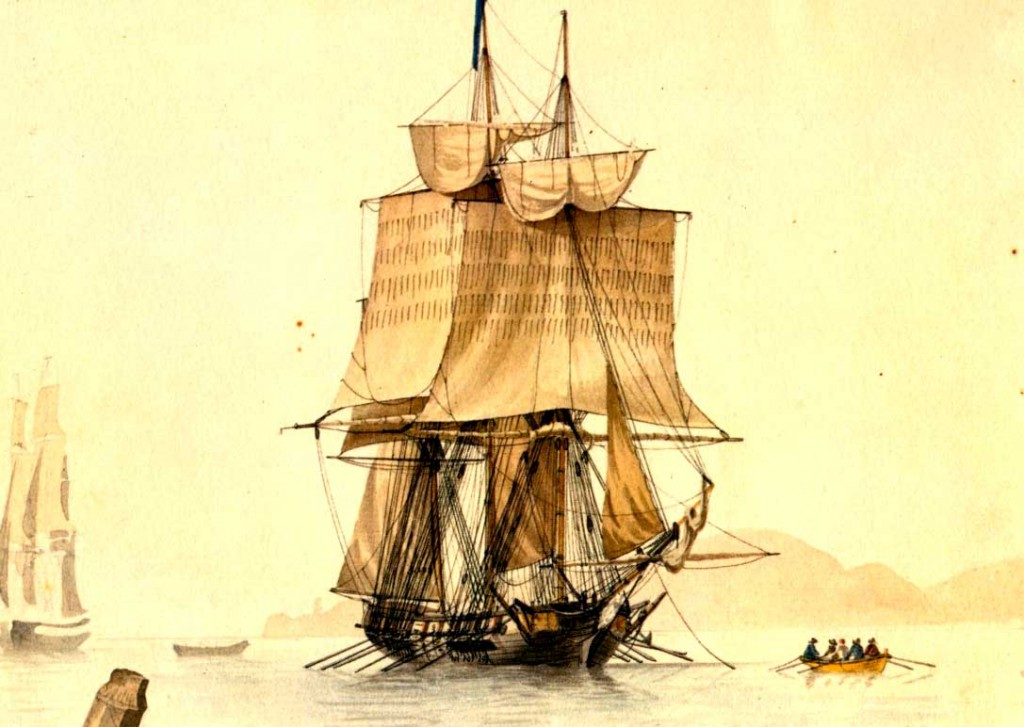 Buque corsario