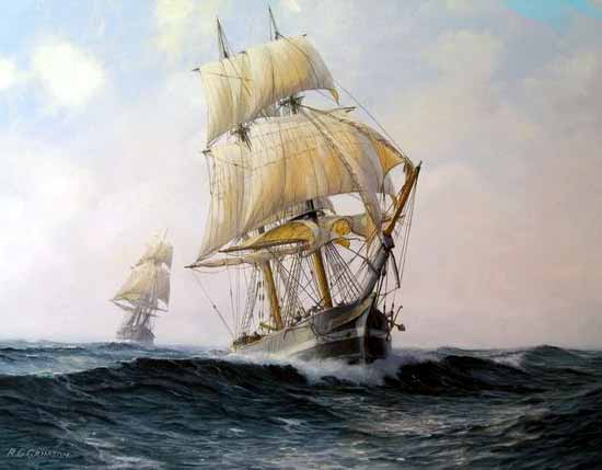 Buque corsario de caza
