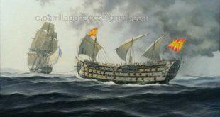 "Pintura naval ""De vuelta a casa"", de Carlos Parrilla"