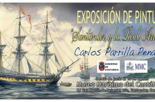 Exposición de pintura de Carlos Parrilla