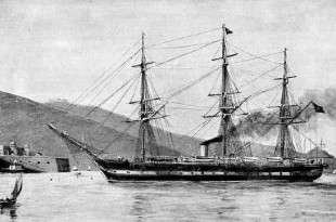 Fragata Almansa, de la Armada española