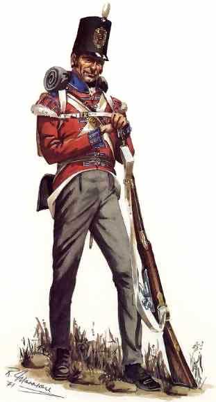 Granadero británico de 1812