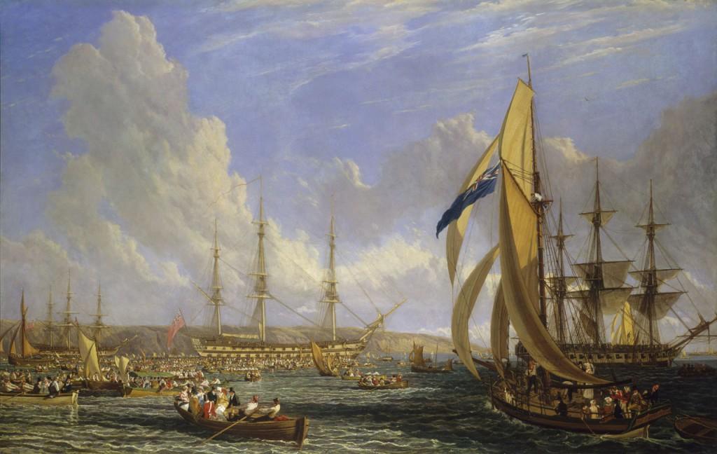 El HMS Bellerophon