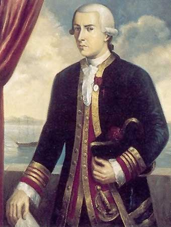 Retrato de Juan Francisco de la Bodega y Quadra