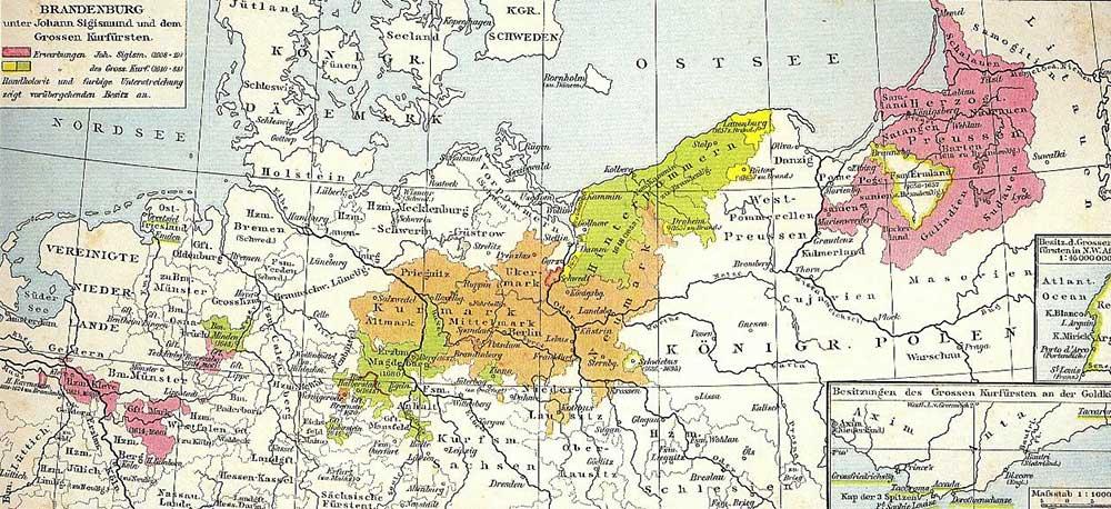 mapa brandeburgo