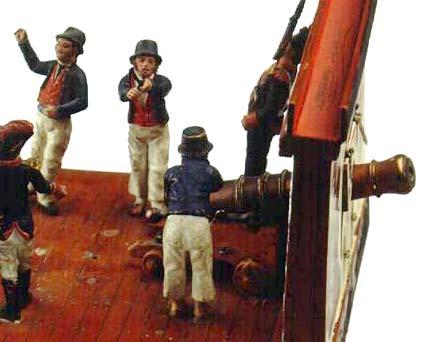 Tripulación del navío Real Borbón