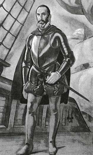 Dibujo de Pedro de Zubiaur