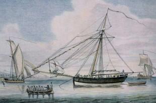 Privateers ingleses en las islas Bermudas