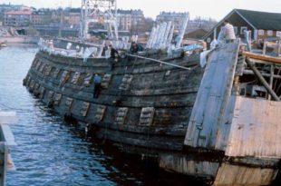 Rescate del navio Vasa