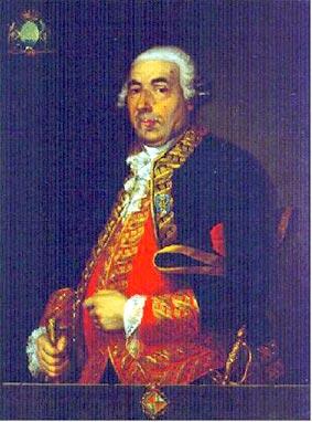 Retrato del Teniente General don Antonio Barceló. Óleo anónimo. Museo Naval de Madrid. Regalado a dicho museo por el Ayuntamiento Constitucional de Palma de Mallorca en 1848.