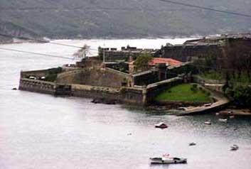 Castillo de San Felipe, visto desde el norte