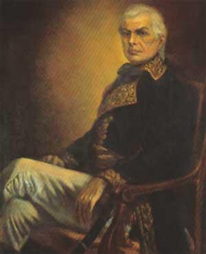 retrato de Francisco de Miranda