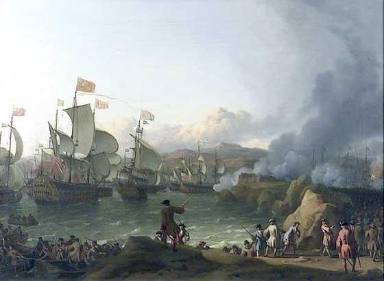 Vista de la batalla