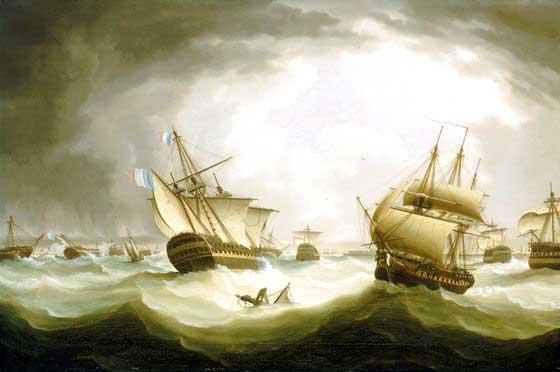 Navo Santsima Trinidad orgullo de la Armada espaola