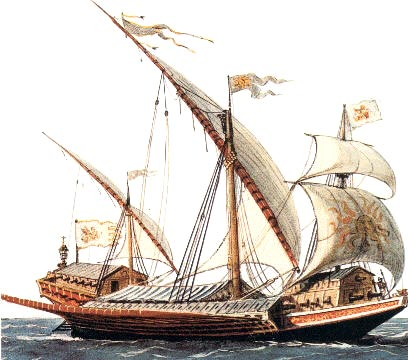 Galeaza veneciana de 1560