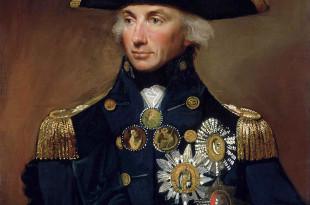retrato del vicealmirante Nelson