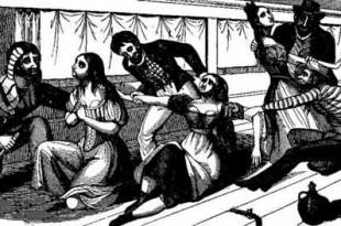 Abuso a mujeres por parte de piratas