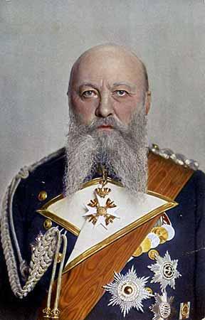 Retrato de Alfred von Tirpitz