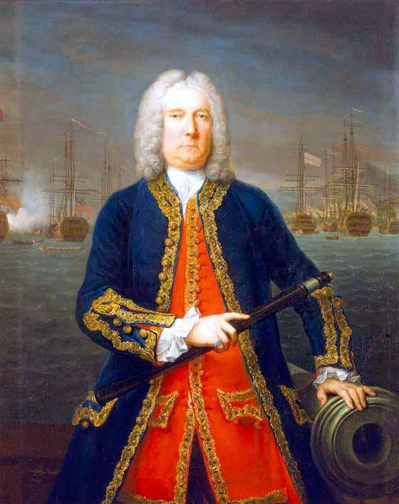 Almirante Thomas Mathews