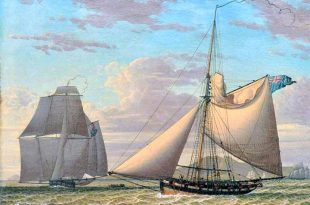 Apresamiento del cutter HMS George