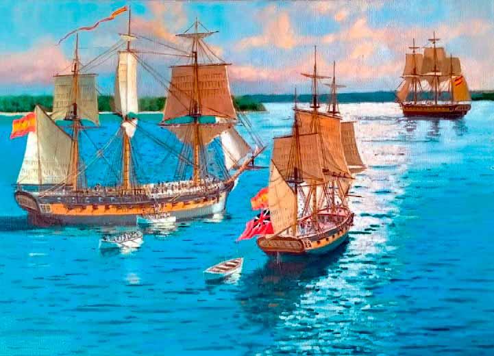Apresamiento de la HMS Musquito.