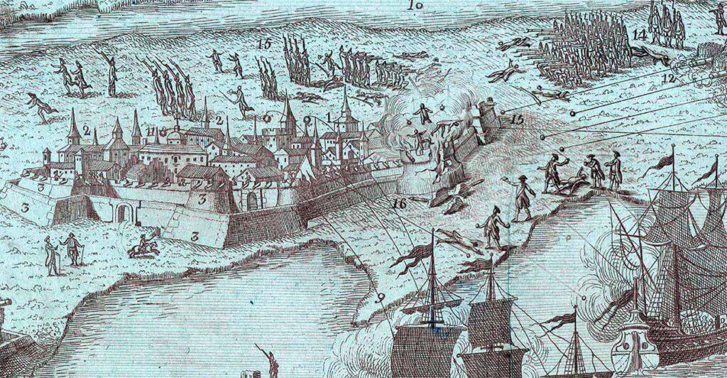 Ataque a Pensacola por las fuerzas españolas