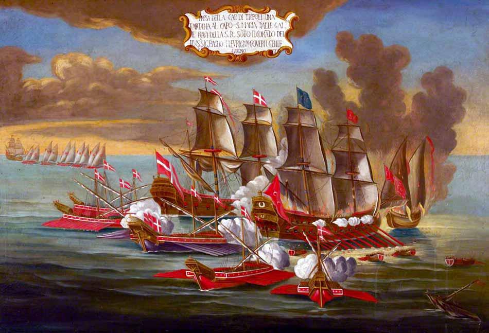 Ataque a un corsario berberisco