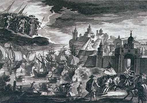 Ataque y conquista de Orán en 1732