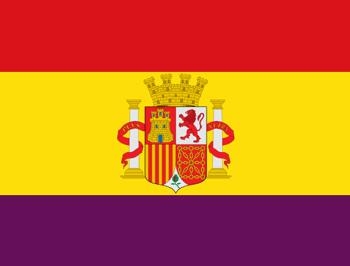 Bandera española de la Segunda República