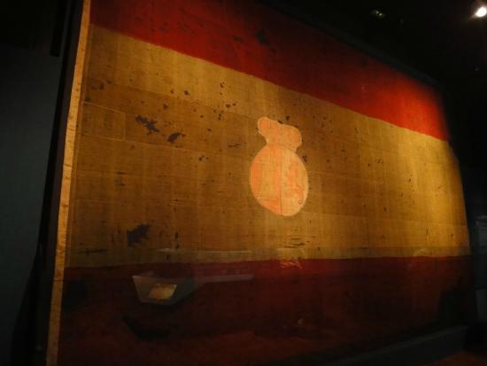 Bandera española del navío Príncipe de Asturias