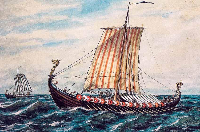 Buque Drakar vikingo