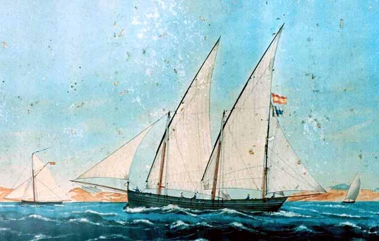 Buque místico español parecido al Gibraltal, alias el Generalísimo que apresó al HMS Hannah