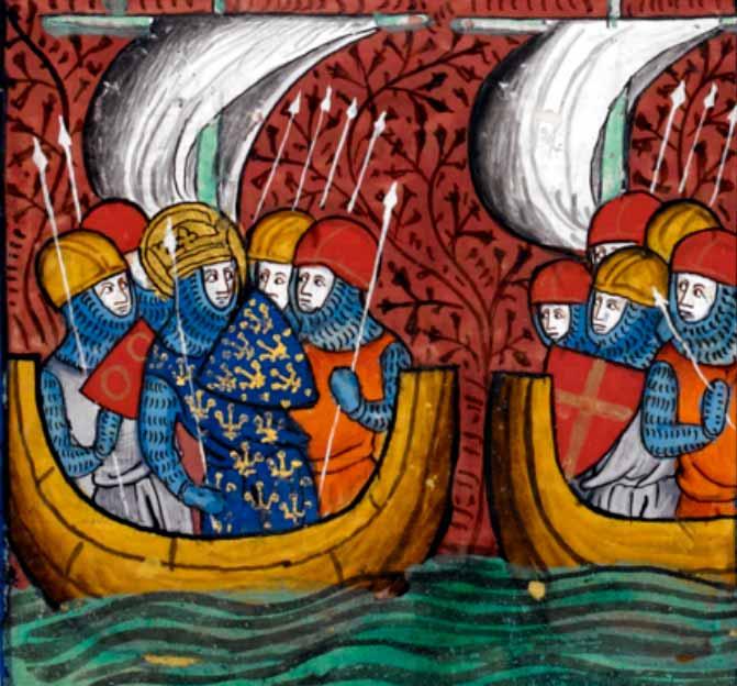 Barcos medievales