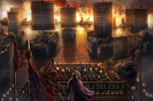 Batalla de los acantilados rojos, o batalla de Chibi