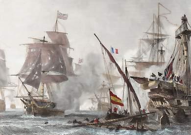 Batalla de Algeciras del 6 de julio de 1801.