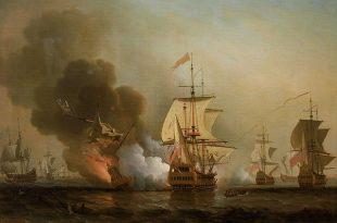 El galeón San José en la batalla de Barú
