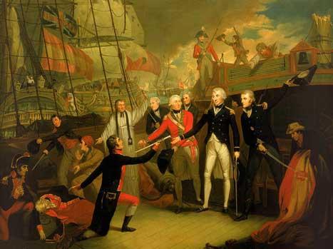 Batalla del Cabo de San Vicente.