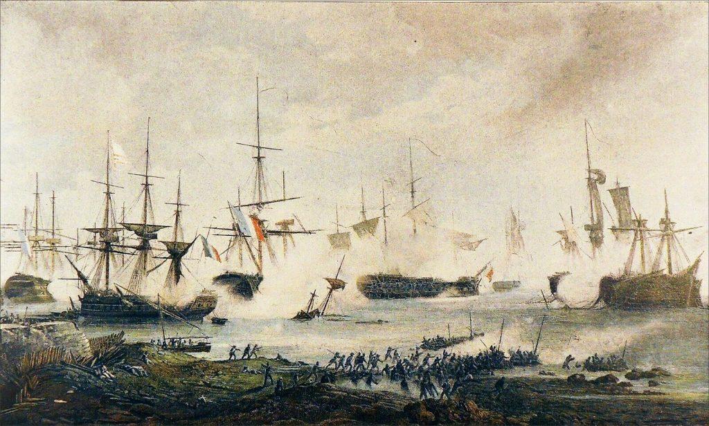 Batalla de Algeciras.