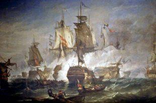 La batalla de San Vicente, 1797