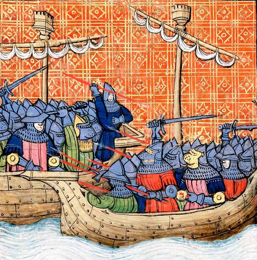Batalla de La Rochelle (Batalla de la Rochela) 1372