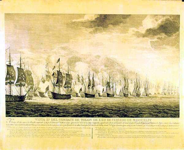 Batalla de Cabo Sicié o de Tolón.