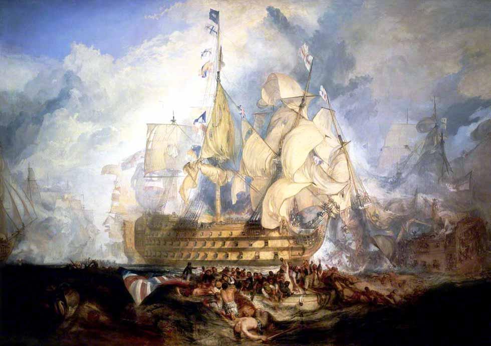 La batalla de Trafalgar. 21 de octubre de 1805
