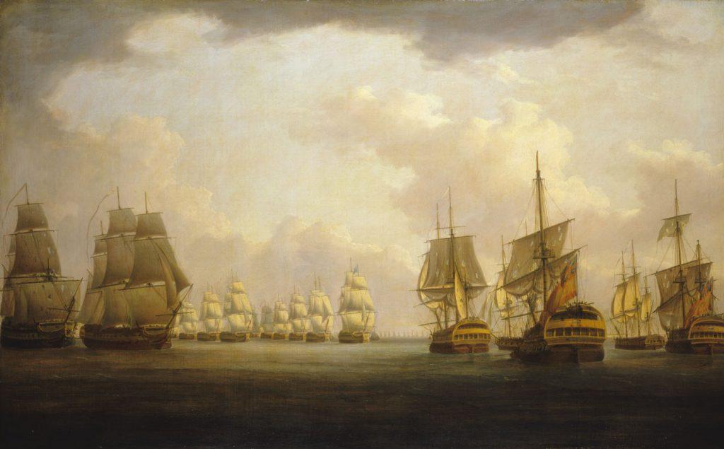Batalla del cabo de Finisterre, 22-23 de julio de 1805