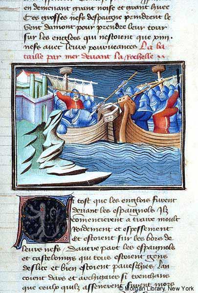 Batalla de La Rochelle, 22 de junio de 1372