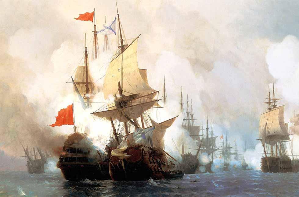 Batalla naval de Chesme