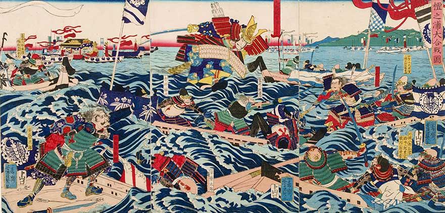 Batalla naval de Dan-no-ura