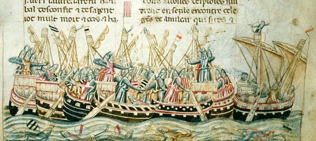 Pero Niño y su campaña naval en el Mediterráneo