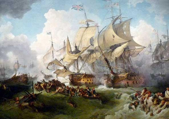 Batalla naval del primero de junio de 1794